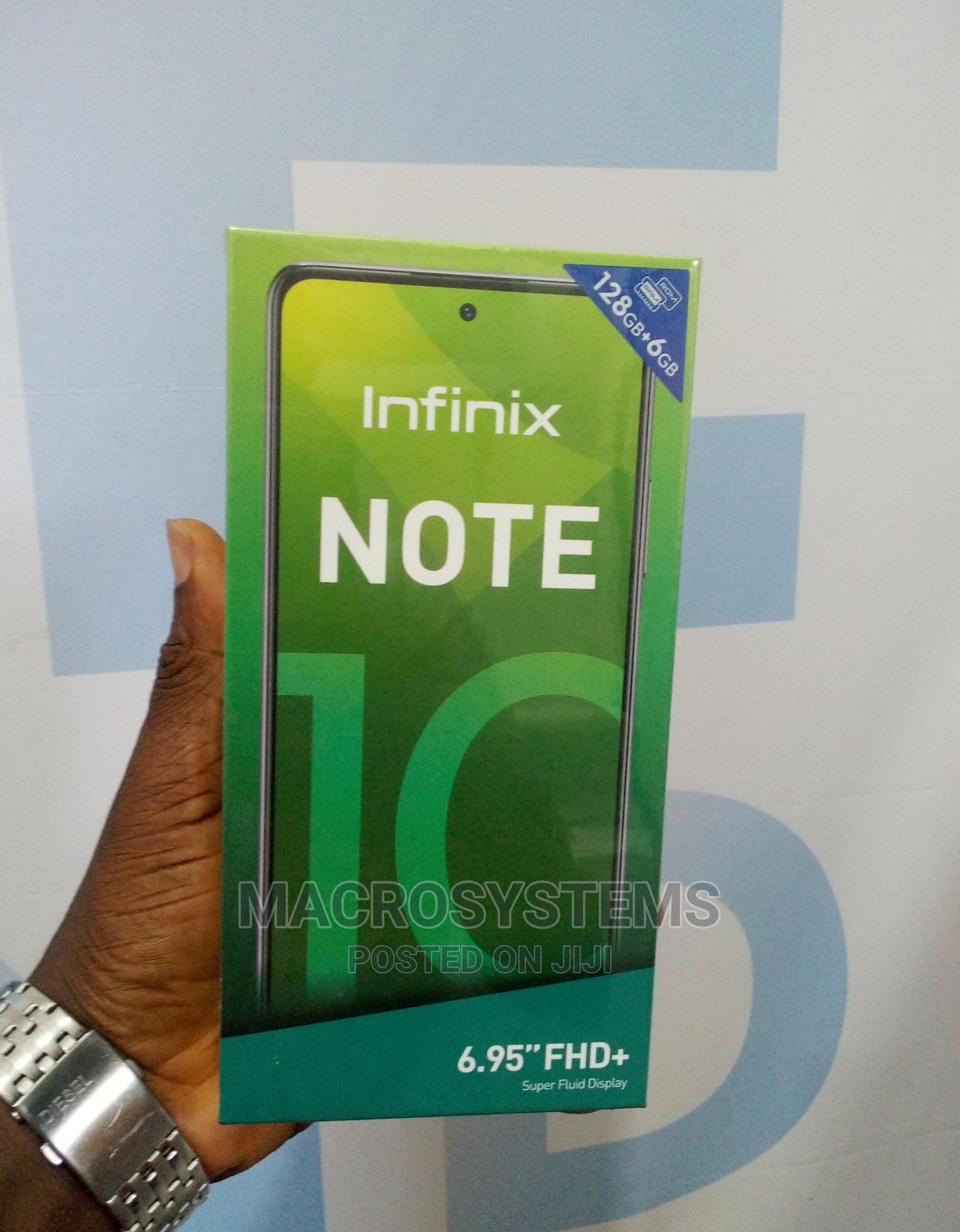 New Infinix Note 10 128 GB