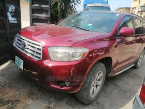 Toyota Highlander 2009 Limited 4x4 Red | Cars for sale in Lagos State, Apapa