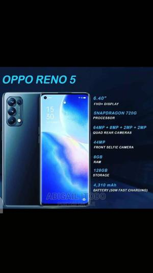 New Oppo Reno5 4G 128 GB Blue | Mobile Phones for sale in Abuja (FCT) State, Wuse 2