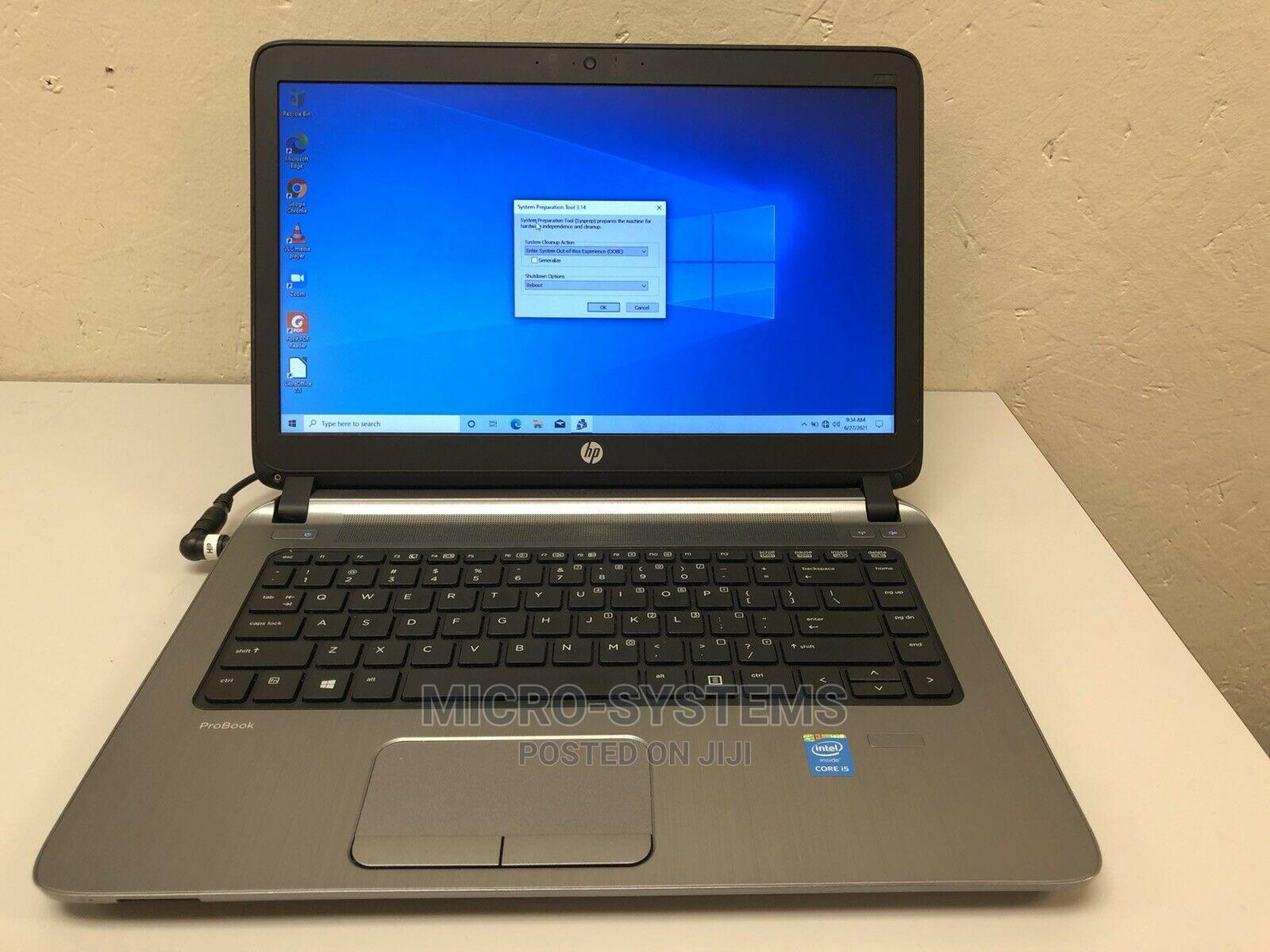Laptop HP ProBook 440 G2 8GB Intel Core I5 HDD 500GB   Laptops & Computers for sale in Ajah, Lagos State, Nigeria