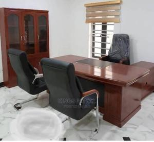 Imported Executive Office Table With the Chairs | Furniture for sale in Lagos State, Ajah