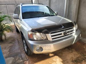 Toyota Highlander 2005 4x4 Silver   Cars for sale in Lagos State, Ikeja