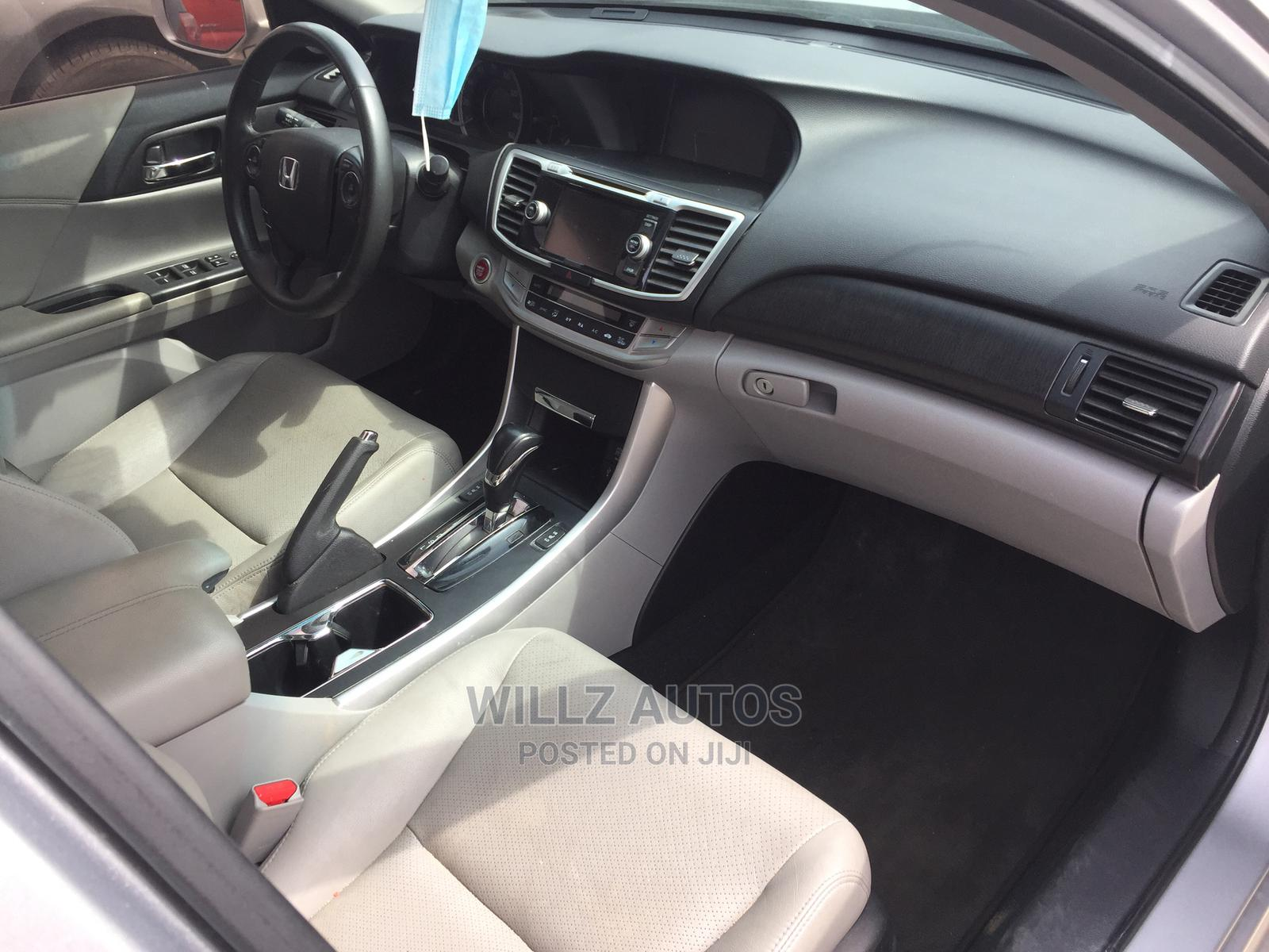 Honda Accord 2014 Silver   Cars for sale in Ajah, Lagos State, Nigeria