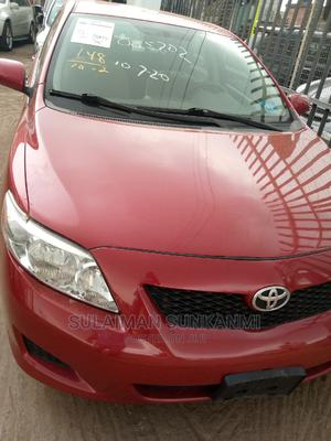 Toyota Corolla 2009 1.8 Advanced Red   Cars for sale in Lagos State, Alimosho