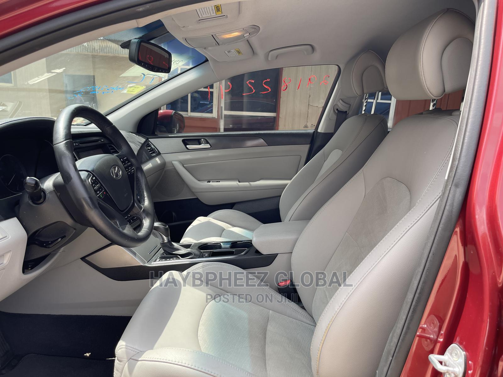 Hyundai Sonata 2016 Red | Cars for sale in Magodo, Lagos State, Nigeria