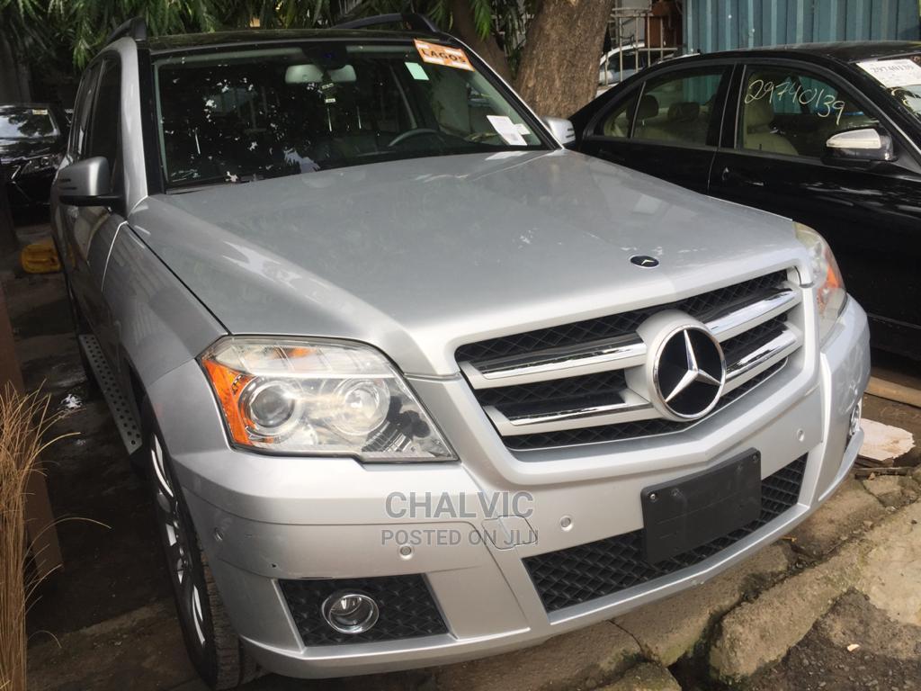 Mercedes-Benz GLK-Class 2010 350 4MATIC Silver   Cars for sale in Ikeja, Lagos State, Nigeria