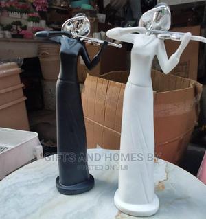 Ceramic Violin Lady Figurine | Home Accessories for sale in Lagos State, Ojota