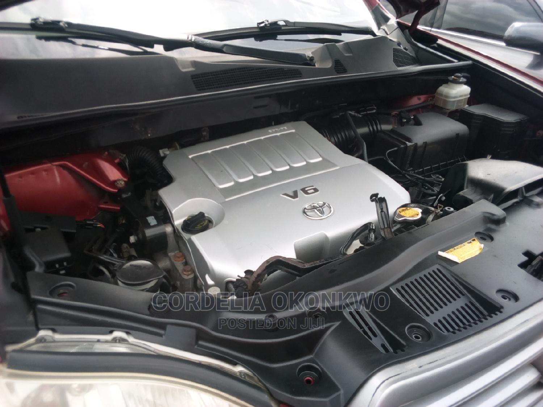 Archive: Toyota Highlander 2008 Red