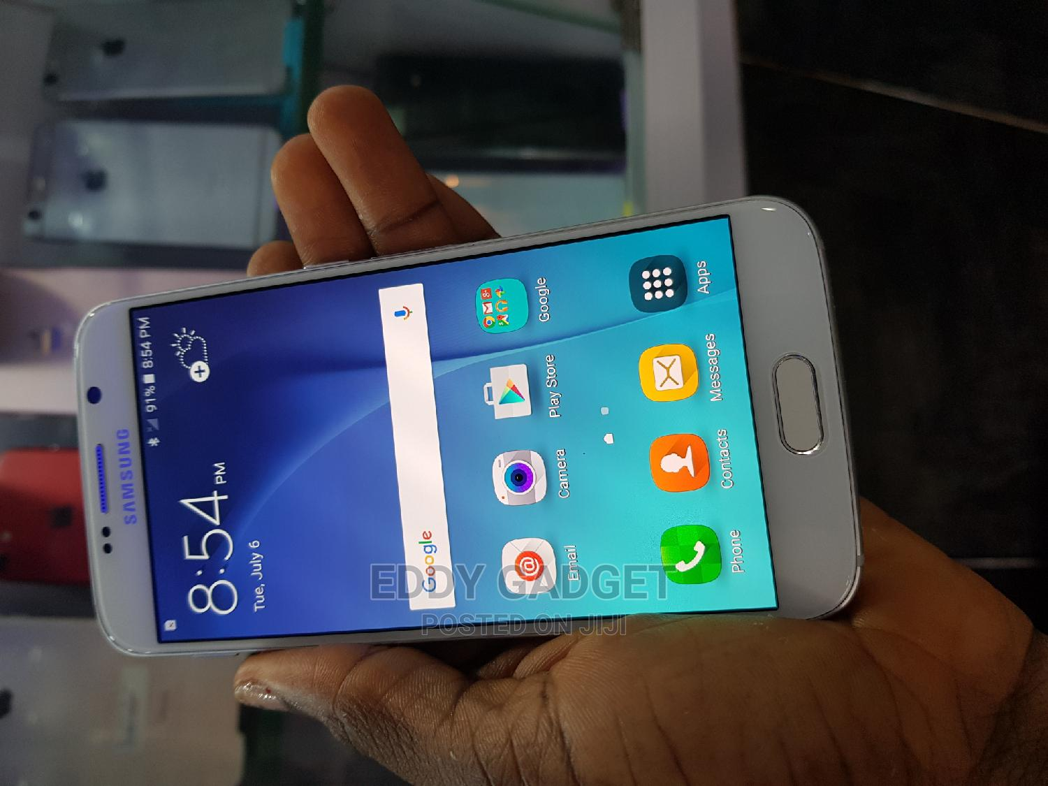 Samsung Galaxy S6 32 GB White   Mobile Phones for sale in Wuse, Abuja (FCT) State, Nigeria