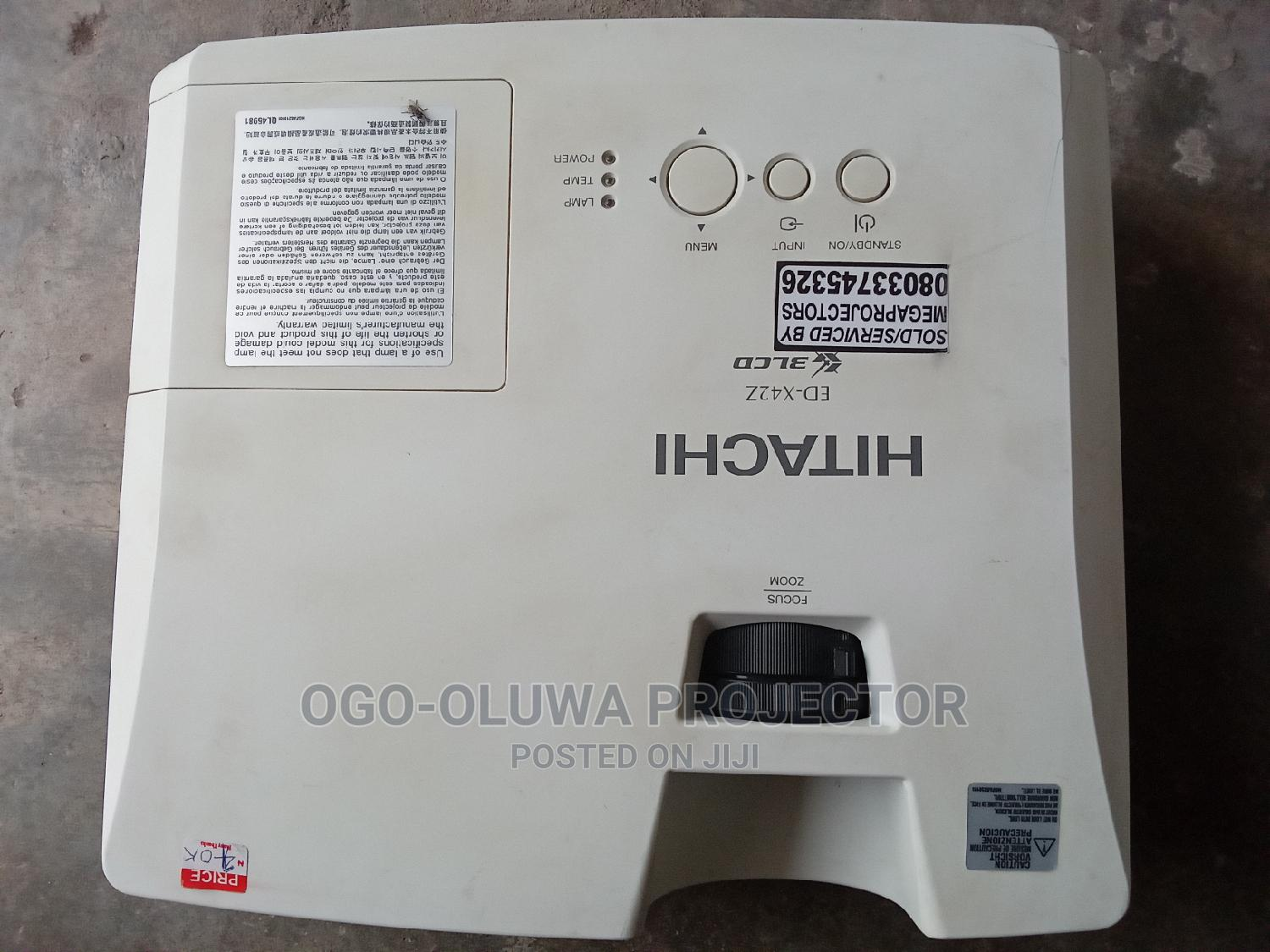 Archive: HITACHI 3lcd Projector Very Clean and Sharp London Used