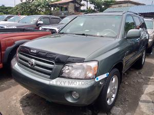 Toyota Highlander 2006 Limited V6 4x4 Green   Cars for sale in Lagos State, Apapa