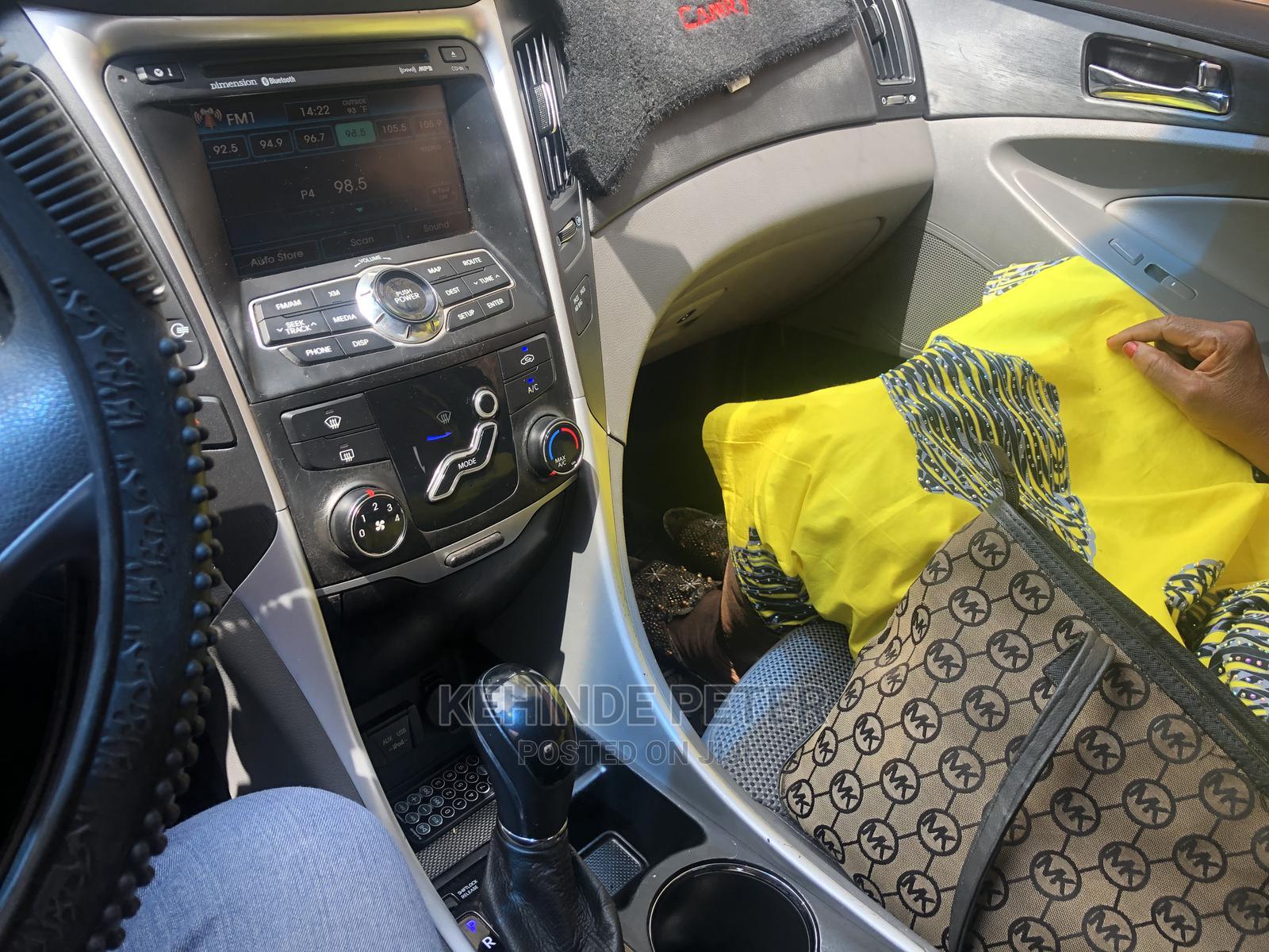 Hyundai Sonata 2012 Blue | Cars for sale in Ibadan, Oyo State, Nigeria