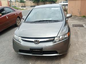 Honda Civic 2008 Gray | Cars for sale in Lagos State, Ogba