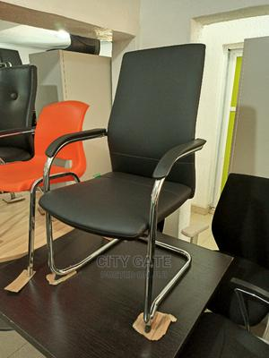 Leather Visitor Chair | Furniture for sale in Lagos State, Ojo