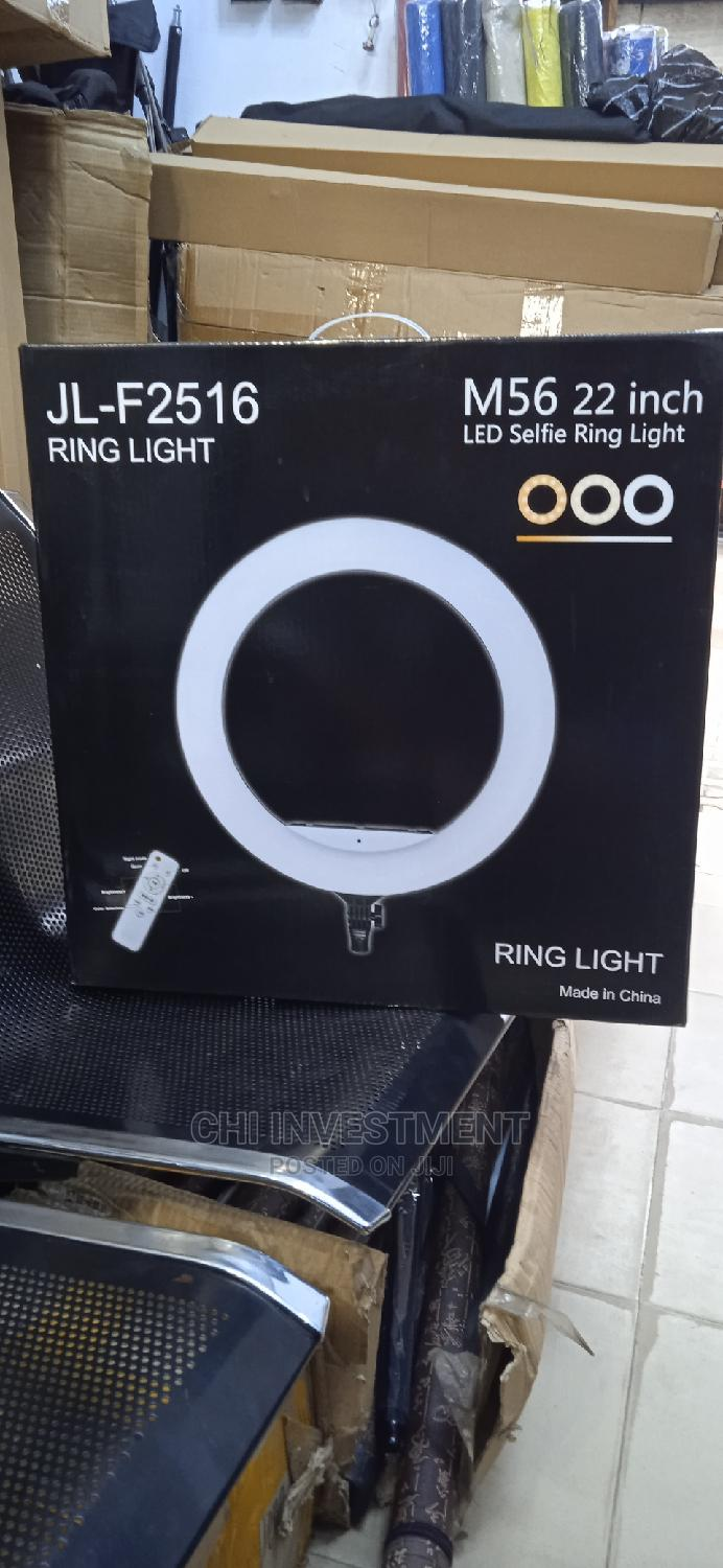 JL-F2516 Ring Light M56 22inch Led Selfie With Stand