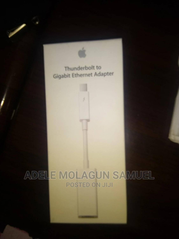 Archive: Apple Thunderbolt To Gigabit Ethernet Adapter
