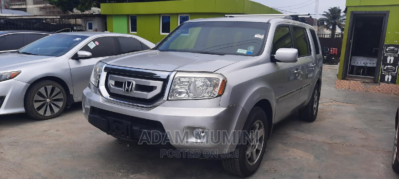 Honda Pilot 2008 EX 4x4 (3.5L 6cyl 5A) Silver | Cars for sale in Ajah, Lagos State, Nigeria