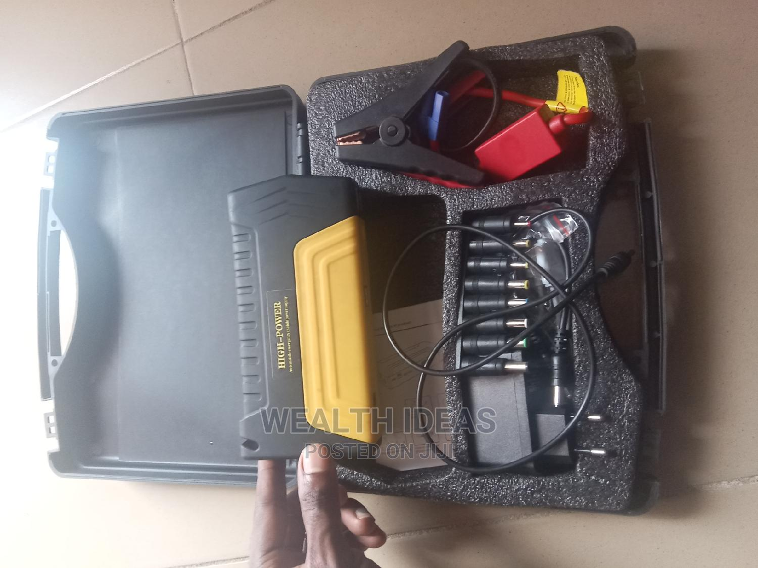 Archive: High Power JUMP STARTER KIT and POWER BANK for Cars, Laptop