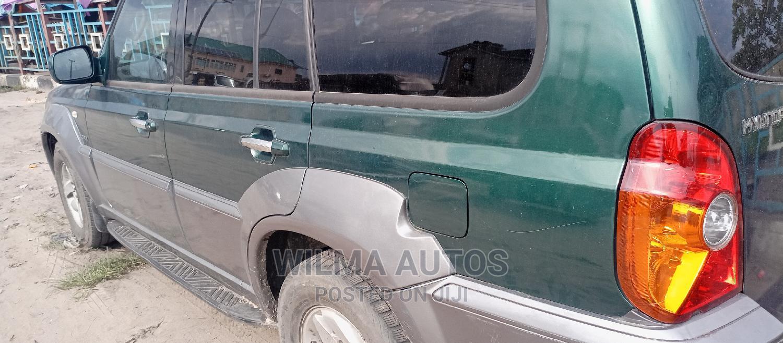 Archive: Hyundai Terracan 2004 2.9 CRDi GL Green