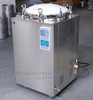 150 Litre Vertical Steam Sterilizer Autoclave | Medical Supplies & Equipment for sale in Lagos State, Amuwo-Odofin