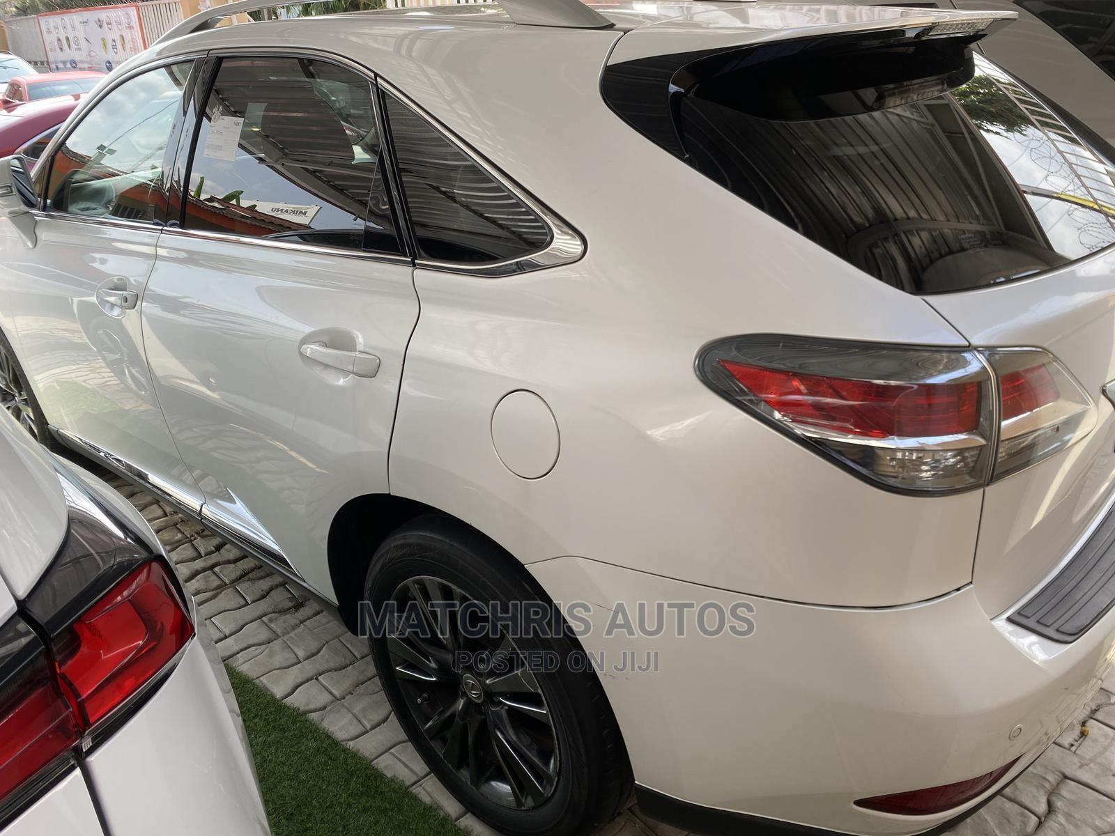 Lexus RX 2013 White   Cars for sale in Ikeja, Lagos State, Nigeria