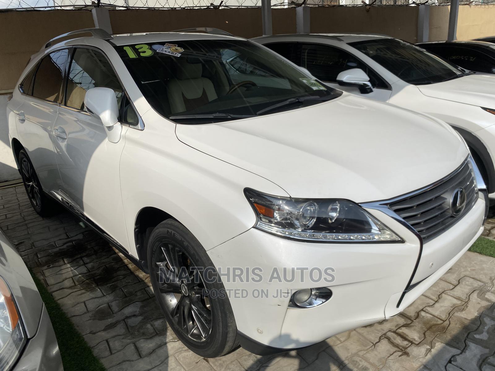 Lexus RX 2013 White