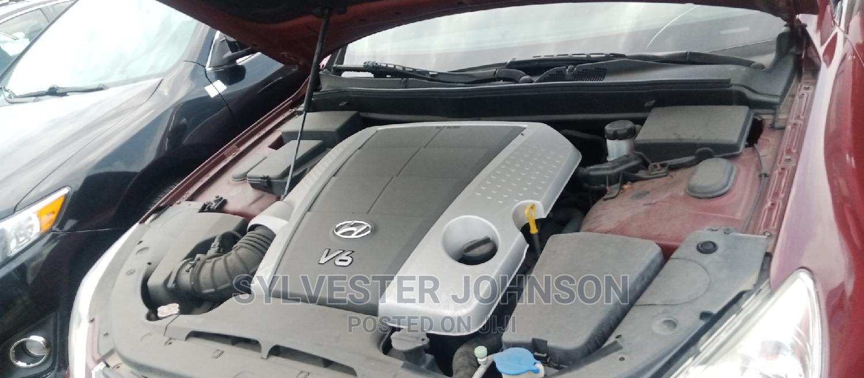 Hyundai Genesis 2011 4.6 Red   Cars for sale in Warri, Delta State, Nigeria