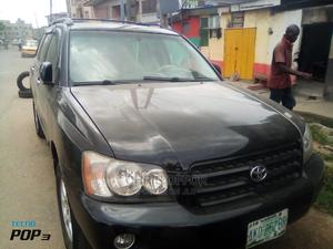Toyota Highlander 2004 Black | Cars for sale in Lagos State, Yaba