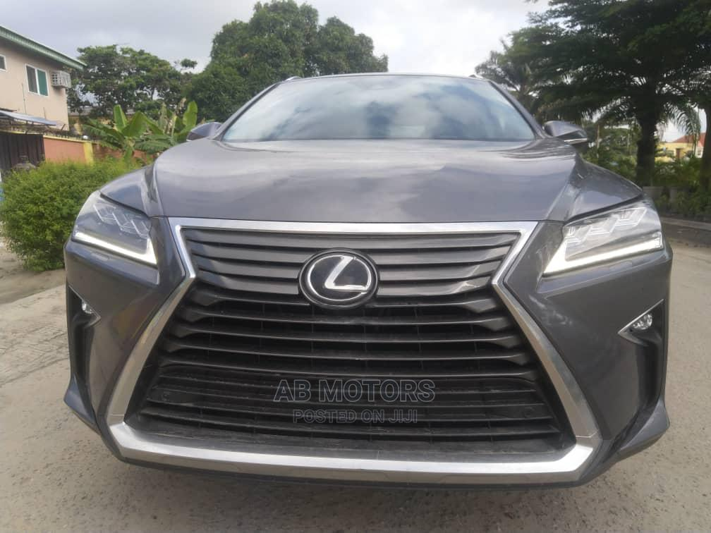 Lexus RX 2017 350 FWD Gray | Cars for sale in Ajah, Lagos State, Nigeria