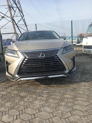 Lexus RX 2016 350 F Sport AWD Gold | Cars for sale in Lagos State, Ajah