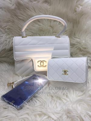 White Chanel Handbags With Purse. Quality, Classic Unique | Bags for sale in Lagos State, Apapa