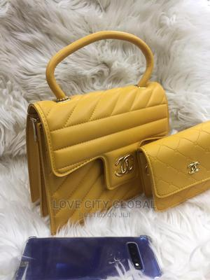 Quality Chanel Women's Handbags With Purse Yellow Chanel Bag | Bags for sale in Lagos State, Apapa