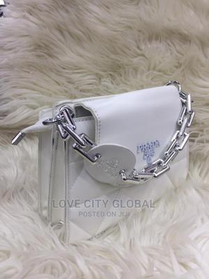 Quality Prada Ladies Handbag. White Prada Handbags | Bags for sale in Lagos State, Lekki