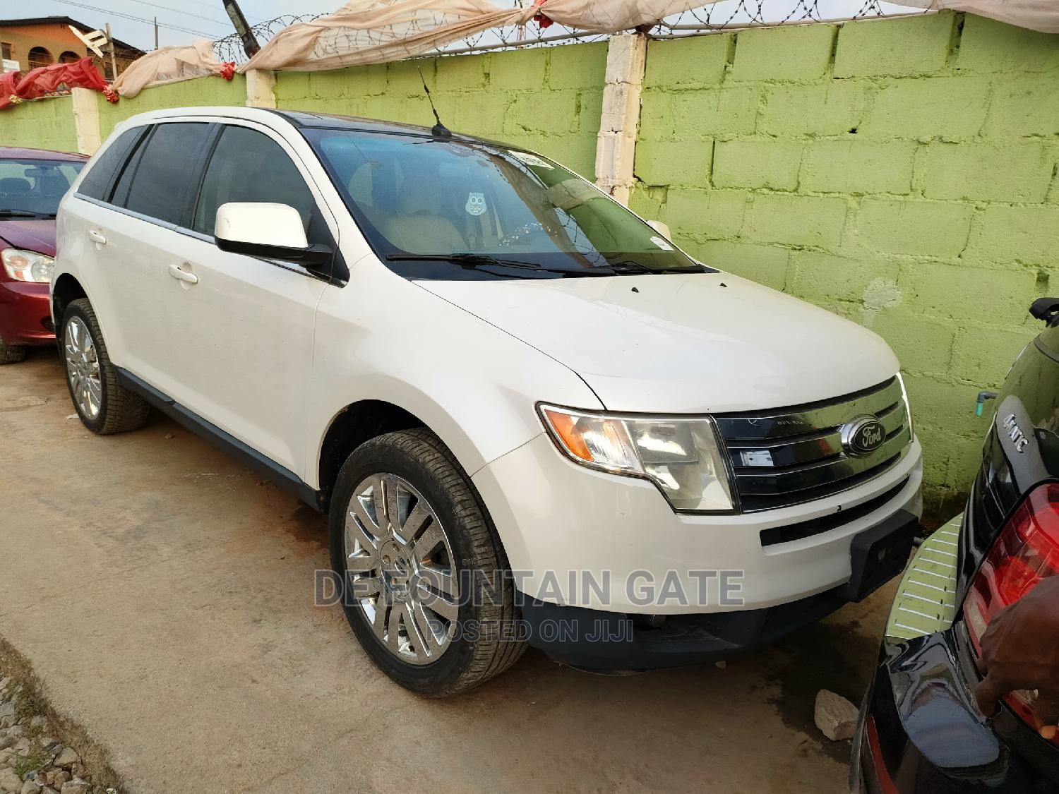 Ford Edge 2008 White | Cars for sale in Ogba, Lagos State, Nigeria