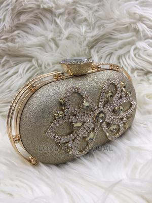 Gold Clutch Purse. Designer, Quality, Classic Clutch Purse   Bags for sale in Lagos State, Lekki