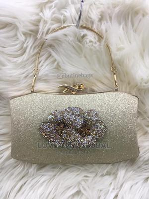 Silver and Gold Clutch Purse. Quality and Classic Purse   Bags for sale in Lagos State, Lekki