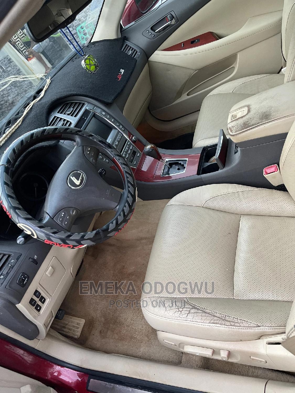 Archive: Lexus ES 2009 350 Red