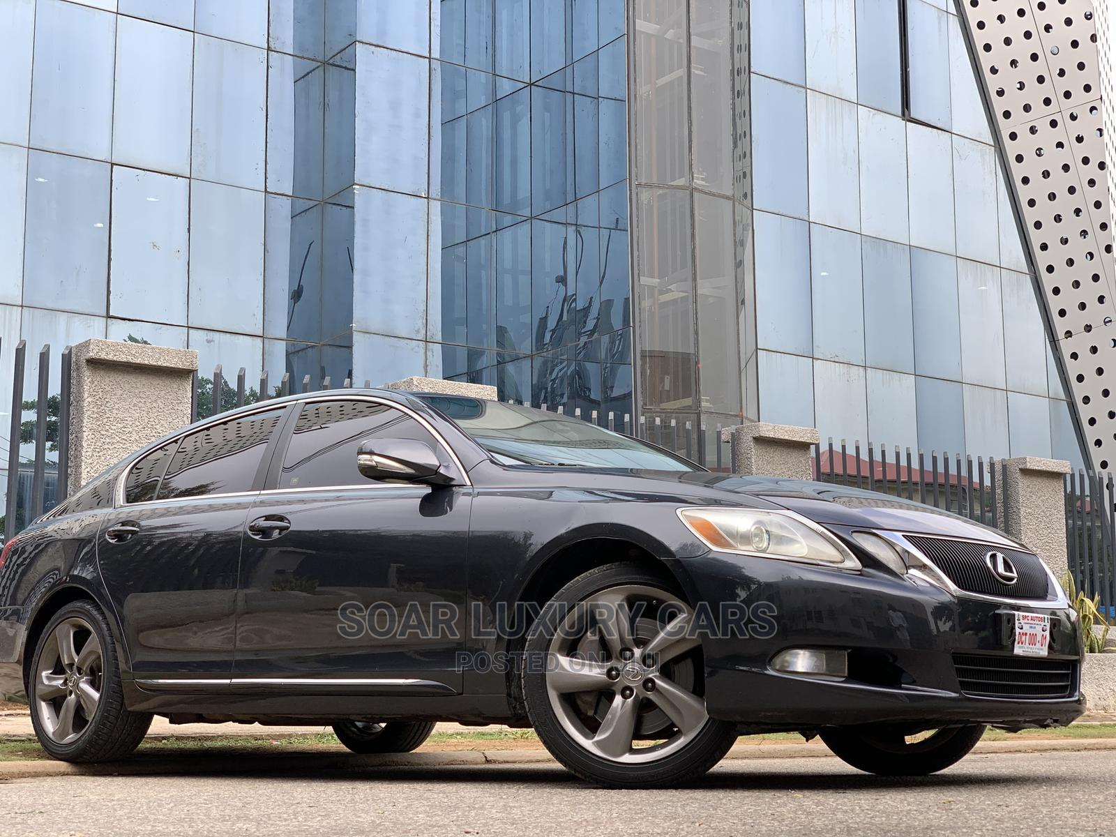Archive: Lexus GS 2008 350 AWD Gray