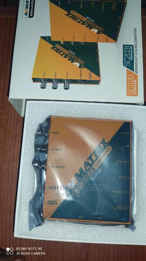 Avmatrix Sc1120 3g-Sdi to HDMI AV Scaling Converter | Accessories & Supplies for Electronics for sale in Lagos State, Ojo