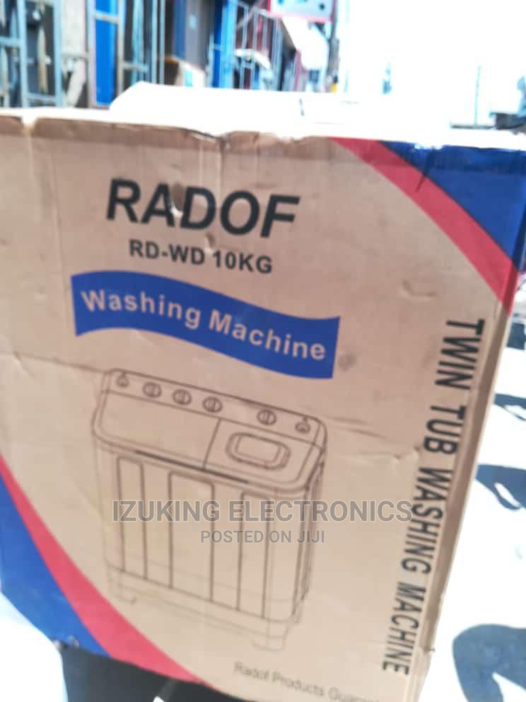 Archive: Radof Twin Tub Washing Machine 10kg