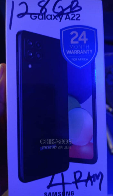 Archive: New Samsung Galaxy A22 128 GB Silver