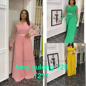 Elegant Classic Trendy Female Quality Pleated Jumpsuits | Clothing for sale in Lagos State, Ikeja
