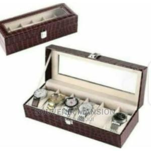 Wrist Watch Storage Box ( Brown) | Clothing Accessories for sale in Lagos State, Lagos Island (Eko)