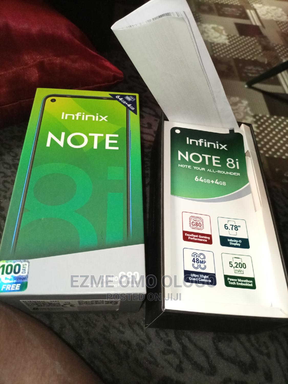 Archive: Infinix Note 8i 64 GB Blue