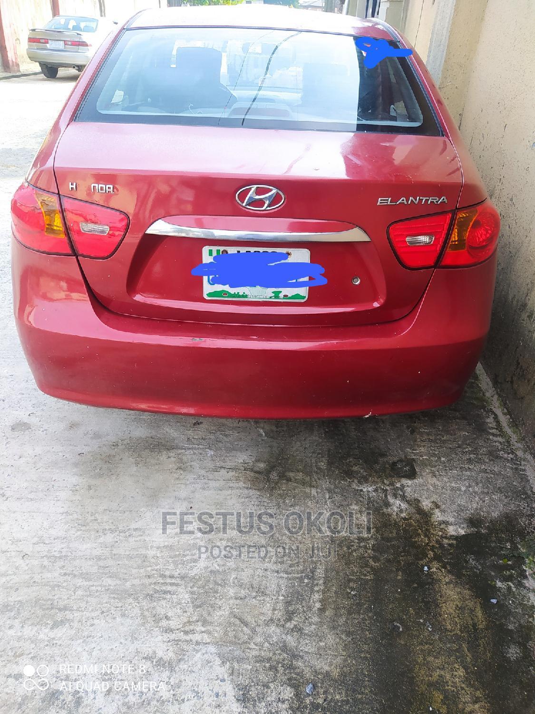 Hyundai Elantra 2009 Red   Cars for sale in Warri, Delta State, Nigeria