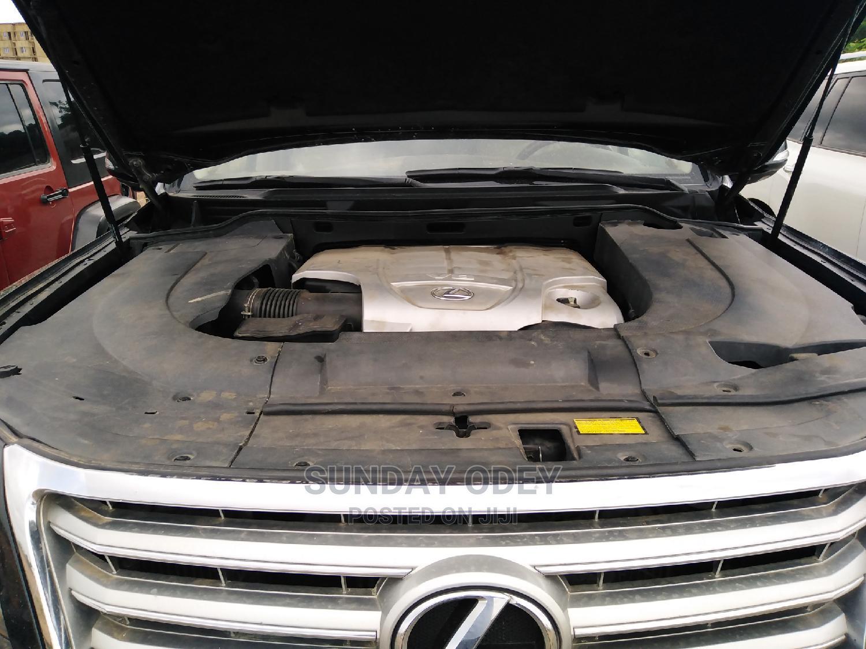 Archive: Lexus LX 2015 Black