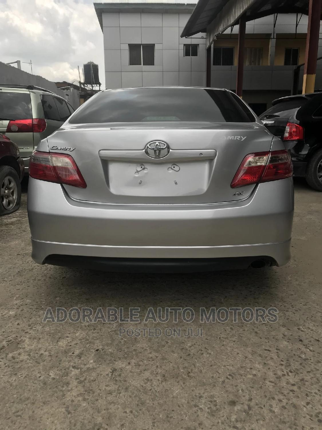 Archive: Toyota Camry 2007 Silver