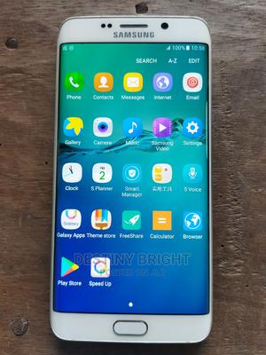 Samsung Galaxy S6 Edge Plus Duos 32 GB White | Mobile Phones for sale in Rivers State, Port-Harcourt