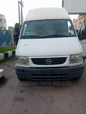 Opel Movano 25 DTI 2002 White | Buses & Microbuses for sale in Lagos State, Ikeja