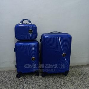 Unisex Swiss Polo Trolley Suitcase 3 Set Blue Bag   Bags for sale in Lagos State, Ikeja